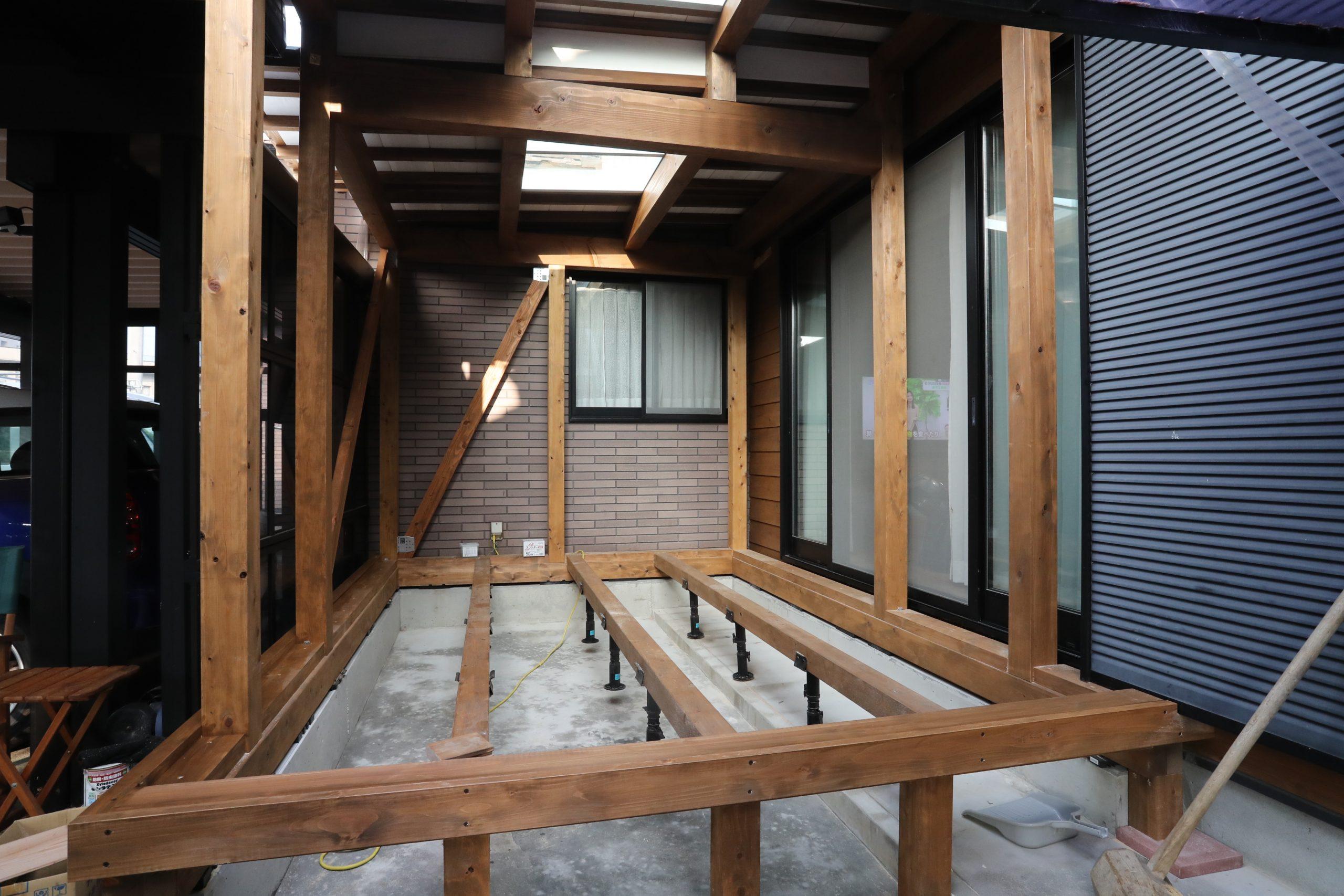 サラサホーム福井北のグランピング